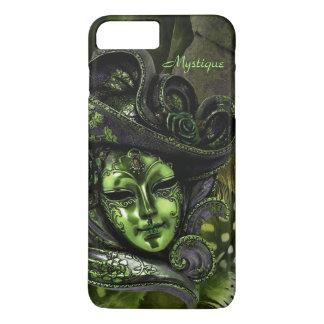 Carnival Mask - Peridot Damask iPhone 7 plus Case