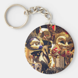 Carnival Masks from Venice Keychain
