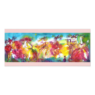 CARNIVAL NIGHT, Mardi Gras Masqureade ,Dance,Music Card