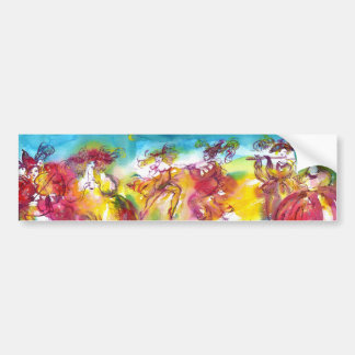 CARNIVAL NIGHT / Venetian Masquerade,,Dance Music Bumper Sticker