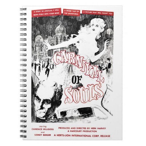 """""""Carnival of Souls"""" Notebook"""