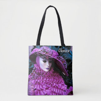 Carnival of Venice Tote Bag
