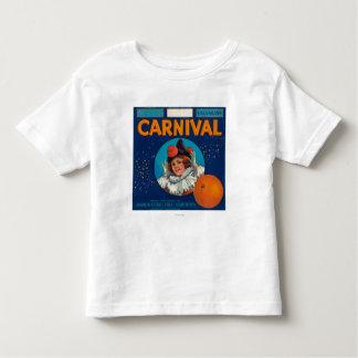 Carnival Orange LabelAnaheim, CA Toddler T-Shirt