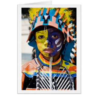 carnival paint card