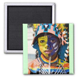carnival paint magnet