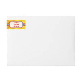 Carnival Party Address Labels