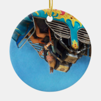 Carnival - Ride - The thrill of the carnival Christmas Ornament