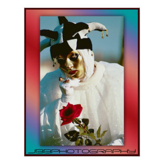 carnival rose poster