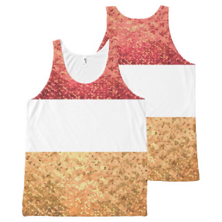 Carnival (Rouge version) Unissex All-Over Print Tank Top