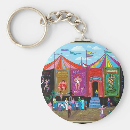 Carnival Sideshow Keychains