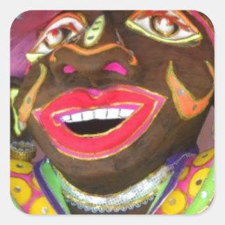 Carnival! Square Sticker