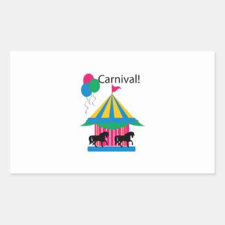 Carnival! Rectangular Sticker