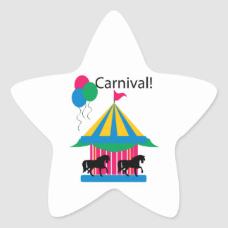 Carnival Star Stickers