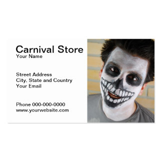 Carnival Store Business Card Business Card