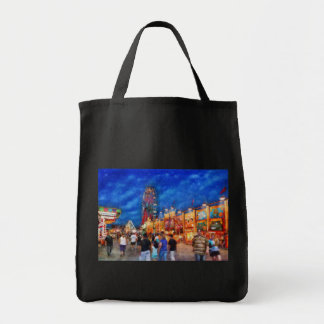 Carnival - The carnival at night Canvas Bags