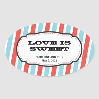 Carnival Themed Wedding Stickers