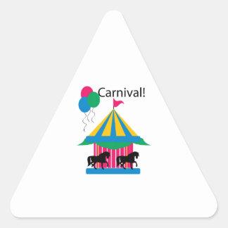 Carnival! Triangle Sticker