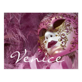 Carnival, Venice Postcard