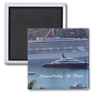 Carnival Victory  St. Thomas Magnet