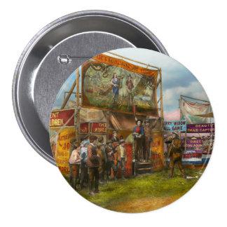 Carnival - Wild Rose & Rattlesnake Joe 1920 7.5 Cm Round Badge