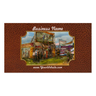 Carnival - Wild Rose & Rattlesnake Joe 1920 Double-Sided Standard Business Cards (Pack Of 100)