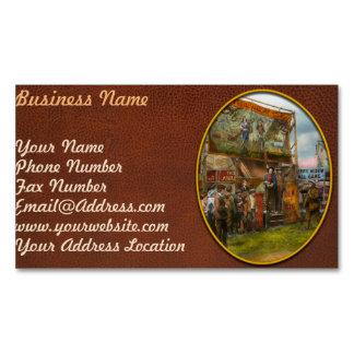 Carnival - Wild Rose & Rattlesnake Joe 1920 Magnetic Business Cards