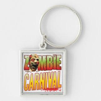 Carnival Zombie Head Keychain