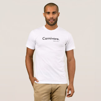 Carnivore. T-Shirt