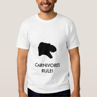CARNIVORES RULE SHIRTS