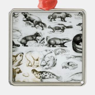 Carnivorous Animals Christmas Ornament