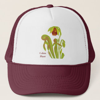 Carnivorous Plant Darlingtonia Trucker Hat