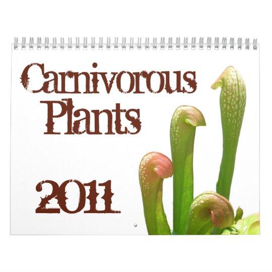 Carnivorous Plants Wall Calendar