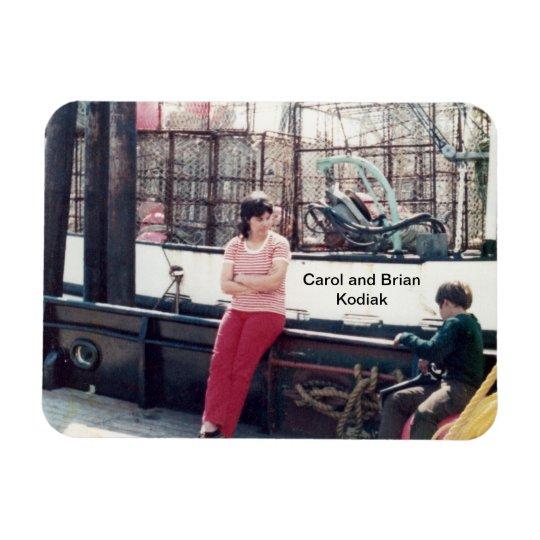 Carol and Brian magnet
