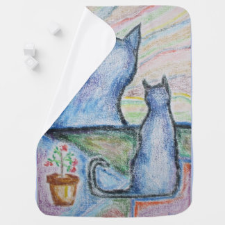 """Carol-Lynne's Kitties"" Baby Blanket"