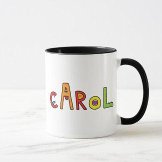 """""""Carol"""" Monster Letters Mug"""