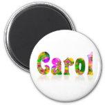 Carol Refrigerator Magnet
