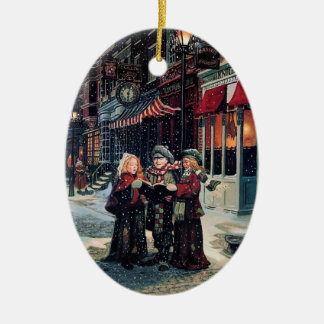 Carol Singing Children Christmas Ornament