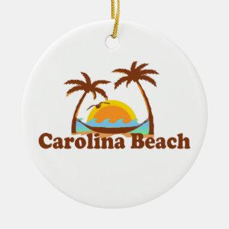 Carolina Beach. Christmas Ornament