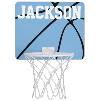 Carolina Blue Basketball Mini Basketball Hoop