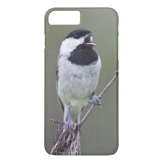 Carolina chickadee singing iPhone 8 plus/7 plus case