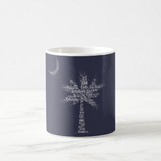 Carolina Designer Palmetto Mug (Navy)