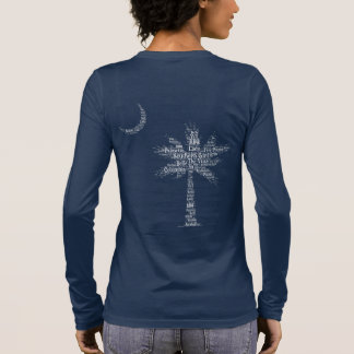 "Carolina Designer Palmetto ""Southern Girl"" Logo Long Sleeve T-Shirt"