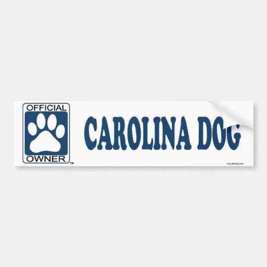 Carolina Dog Blue Bumper Sticker