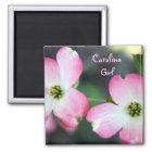 Carolina Girl Pink Dogwood Magnet