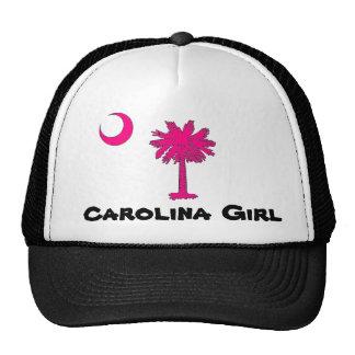 'Carolina Girl' Trucker Hat (Hot Pink Palmetto)