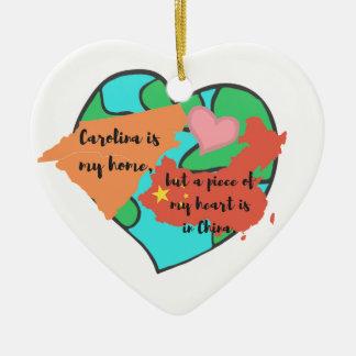 Carolina is my home...Ornament Christmas Ornament