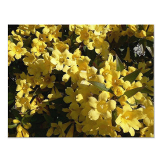 Carolina Jasmine 11 Cm X 14 Cm Invitation Card