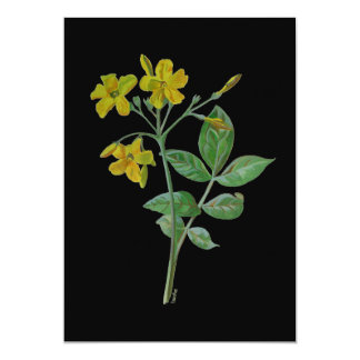 Carolina Jasmine 13 Cm X 18 Cm Invitation Card