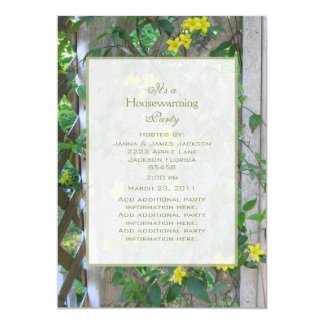 Carolina Jasmine Party Invitation