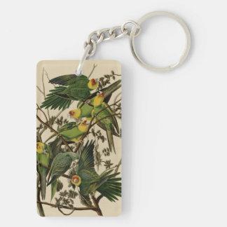 Carolina Parrot Key Ring